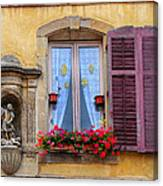 Window And Sculpture Canvas Print