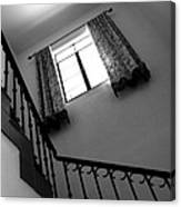 Window And Stairs Canvas Print