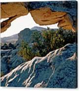 Window Arch City Of Rocks Idaho Canvas Print