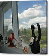 Window Buddies Canvas Print