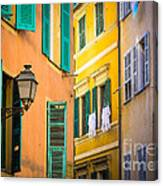 Window Cornucopia Canvas Print