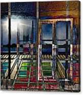 Window Dreaming Canvas Print