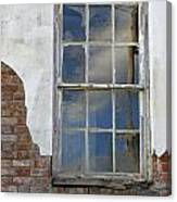 Window Elizabethtown Illinois Canvas Print