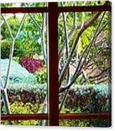 Window Garden Canvas Print