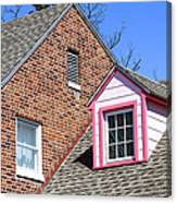 Window In Pink Canvas Print