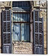 Window In Tel Aviv Canvas Print
