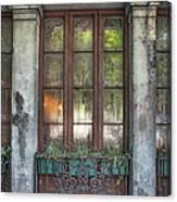 Window In The Quarter Canvas Print