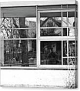 Window In Window Canvas Print