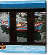 Window Into Greece 6 Canvas Print