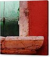 Window Ledge Canvas Print