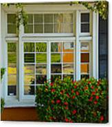 Window Of Many Colors Canvas Print