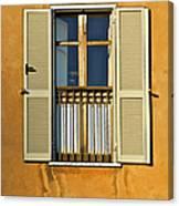 Window Of Rome II Canvas Print