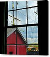 Window On History Canvas Print