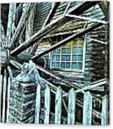 Window On The Wheel Canvas Print