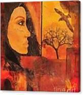 Window On The World Canvas Print