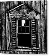 Window Pane Canvas Print