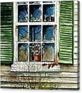 Window Reflections Canvas Print