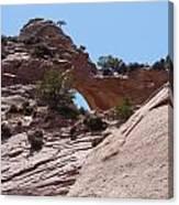 Window Rock 2 Canvas Print