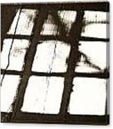 Window Shadow Canvas Print