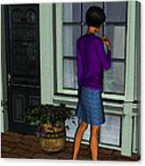 Window Shopper Canvas Print