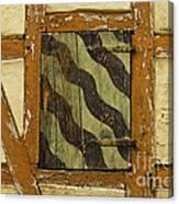 Window Shutter 2 Canvas Print