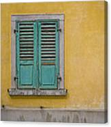 Window Shutter Canvas Print