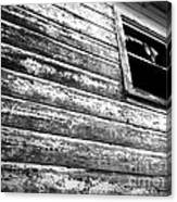 Window To Another Era Canvas Print