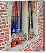 Window To Antwerp Canvas Print