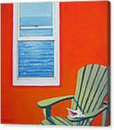 Window To The Sea No. 1 - Seashell Canvas Print