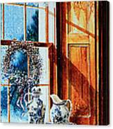 Window Treasures Canvas Print