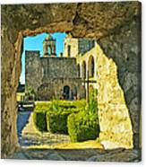 Window View Of Mission Canvas Print