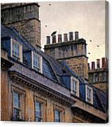 Windows And Chimneys Canvas Print