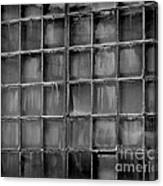 Windows Black And White 2 Canvas Print