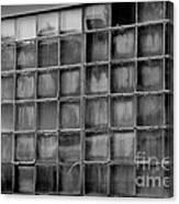 Windows Black And White Canvas Print