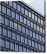 Windows In Copenhagen Canvas Print