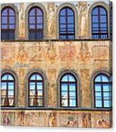 Windows In Florence Canvas Print