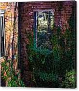 Windows In Time Canvas Print