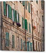 Windows In Tuscany Canvas Print