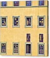 Windows Of Florence Canvas Print