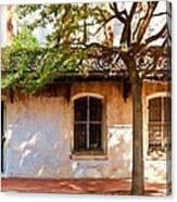 Windows Of Savannah Canvas Print