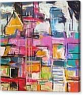 Windows Of The City Canvas Print