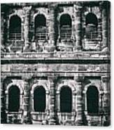 Windows Of The Porta Nigra Canvas Print