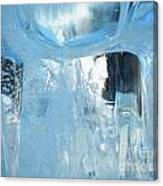Windows On Winter Canvas Print