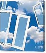 Windows To New World Canvas Print
