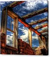 Windows To The Past Canvas Print