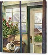 Windows To The World Canvas Print