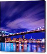 Winds And Lights Canvas Print