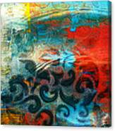 Winds Of Change - Abstract Art Canvas Print