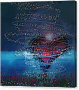 Windswept Love Canvas Print