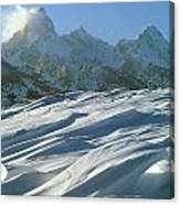 1m9342-windswept Snow Canvas Print
